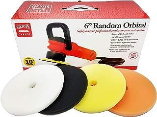 Griot's Garage 6 inch Random Orbital with BOSS Foam Pads