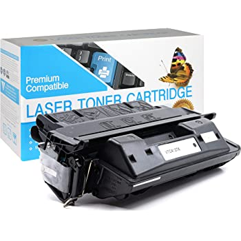 Black 1 Pack KCMYTONER Compatible Toner Cartridge Replacement for HP 27X C4127X Used with Laserjet 4000 4000n 4000tn 4050 4050tn 4050se Series Printer