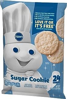 Pillsbury Cookies, Sugar, 24 Cookies, 16 oz. Bag