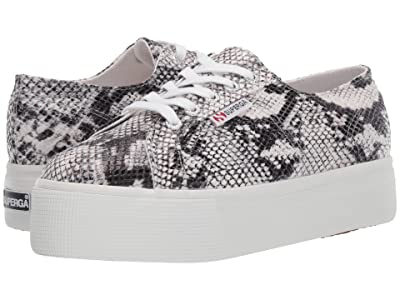 Superga 2790 Pufanw (Black/White Snake) Women