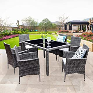 Best wicker patio dining sets Reviews