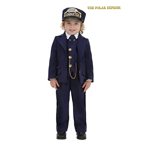 9bdd00e51e Toddler Polar Express Conductor Toddler Blue
