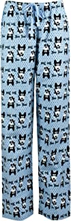 Image of Blue Bow Wow Dog Pajama Pants for Women