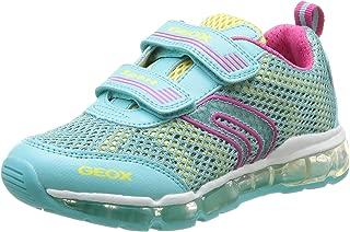 Geox Junior Android Girl 2 Sneaker (Toddler/Little Kid/Big Kid)