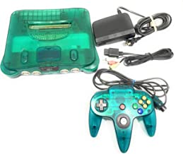 Nintendo 64 System - Video Game Console - Ice