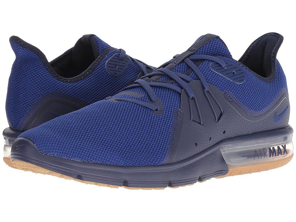 Nike Air Max Sequent 3 (Obsidian/Deep Royal Blue/Neutral Indigo) Men