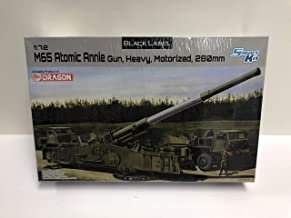 M65 Atomic Annie Gun, Heavy, Motorized, 280mm Dragon Model Black Label Kit 1:72 Scale