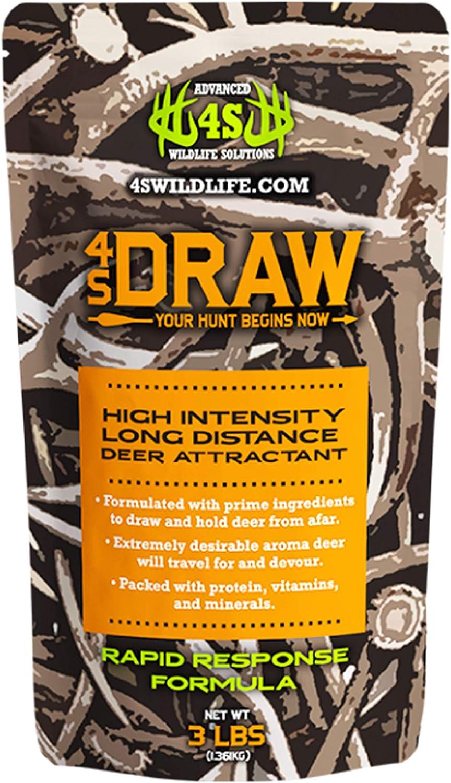 Advanced Wildlife Solutions 4S Alternative dealer Draw Int High Deer Attractant Ranking TOP17 -