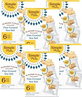 Sponsored Ad - Simple Mills Almond Flour Snack Bars (Chunky Peanut Butter), Organic Coconut Oil, Chia Seeds, Sunflower See...