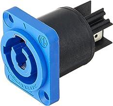 Neutrik NAC3MPA-1 powerCON Chassis Connector - Blue