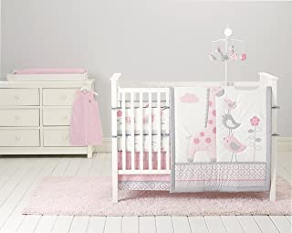 Cuddletime Sky High 6 Piece Bedding Collection, Pink
