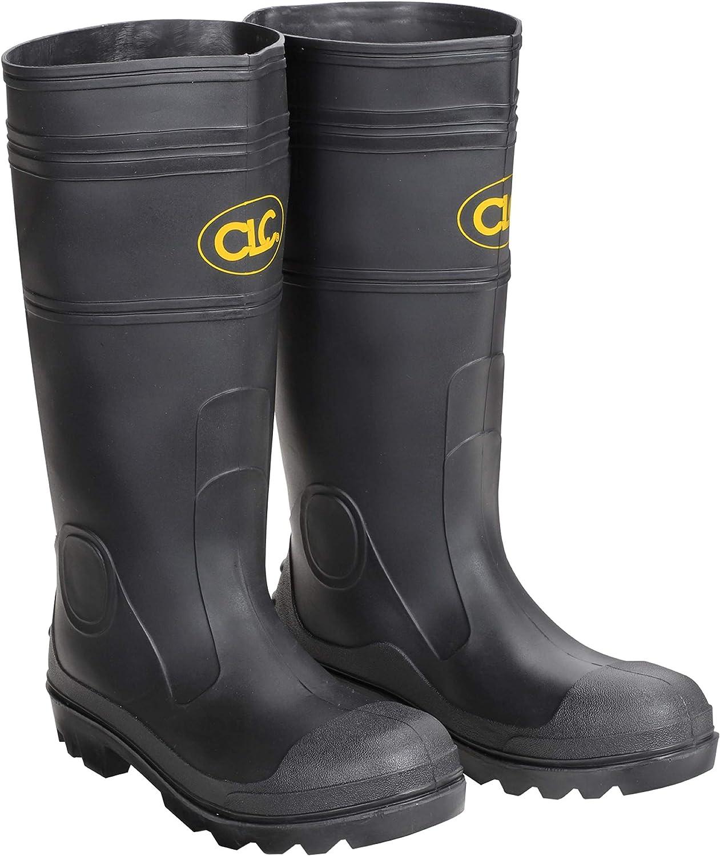 Sale price CLC Custom Leathercraft R230 Houston Mall Over The PVC Sock Men's Black Rain