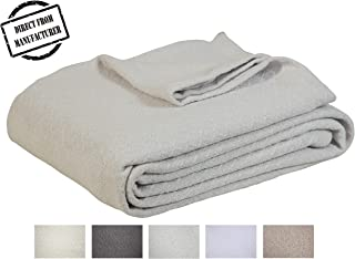 Soft Premium Cotton Blanket - King size - Cozy Cotton Bed Blankets - All  season- cc1feb99a