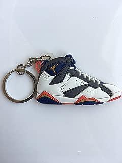 Jordan Retro 7 Olympic Sneaker Keychain Shoes Keyring AJ 23 OG