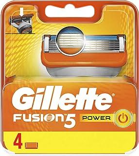 Gillette Fusion Power Men's Razor Blade Refills, 4 Count