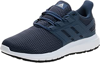 Adidas Ultimashow Mesh-Textile Side-Logo Lace-up Running Athletic Shoes for Men 43 1/3