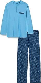 Schiesser Men's Schlafanzug Lang Pajama Set