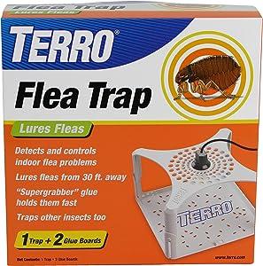 Terro T230 Refillable Flea Trap, White