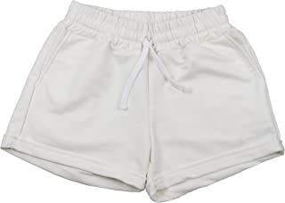FLVFF Athletic Shorts for Women - Womens Workout Cotton Drawstring Shorts with Pockets