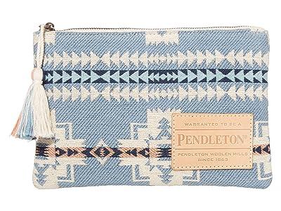 Pendleton Cotton Zip Pouch (Chief Joseph Blue) Cosmetic Case