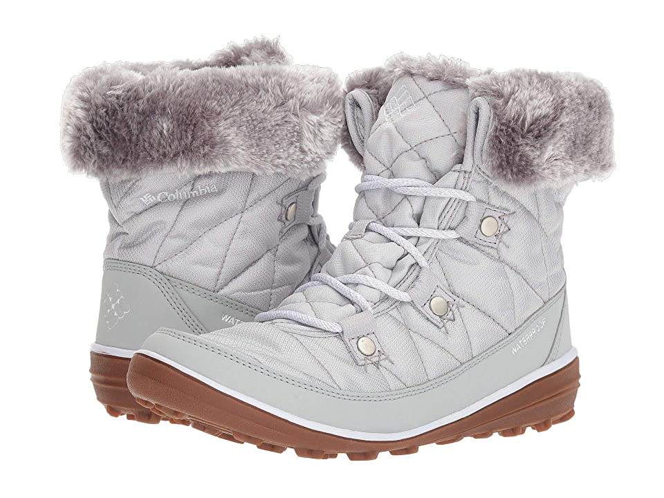 Columbia Heavenly Shorty Camo Omni-Heat (Ice Grey/White) Women