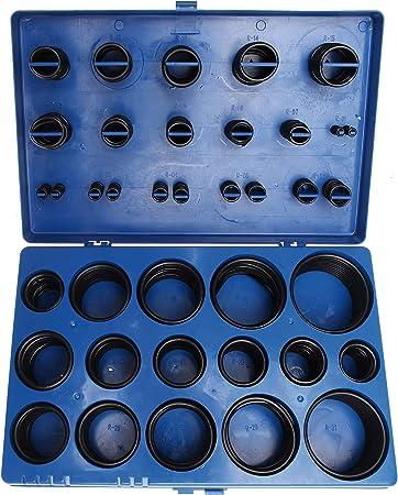 Bgs 8045 O Ring Sortiment 419 Tlg Ø 3 50 Mm Säure Benzin Hitze Und ölbeständig Aus Nbr Gefertigt Im Koffer Baumarkt