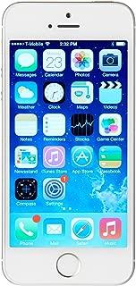 iPhone 5s 16GB Silver SIM-Free Smartphone (Renewed)