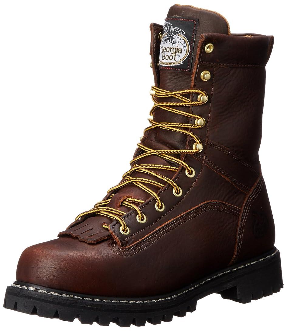 事故余剰会社[Georgia] Bootメンズ g8044?Logger Boot作業靴