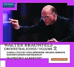 Lieder avec orchestre. Volume 2