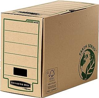 Fellowes Bankers Box Earth Série Lot de 20 Boîtes d'archives Marron