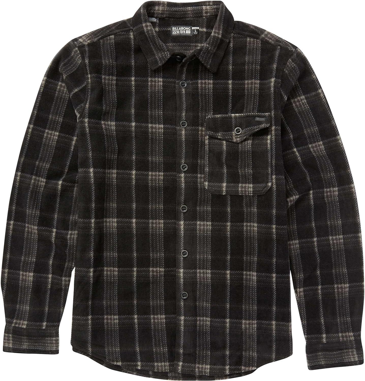 Billabong Men's Furnace Flannel Polar Fleece Flannel Shirt