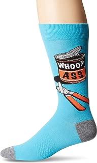 K. Bell Socks Men's Play on Words Novelty Crew Socks