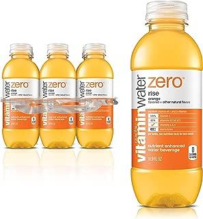 Vitaminwater Zero Rise Water, 16.9 Fl Oz, Pack of 6