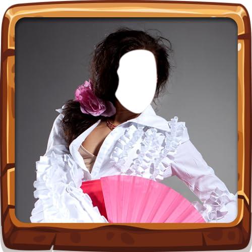 Flamenco-Kleid-Foto-Montage