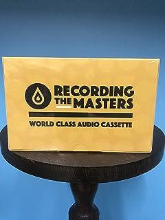 Recording The Masters FOX C90 TYPE 1 Audio Cassettes [Box of 10]