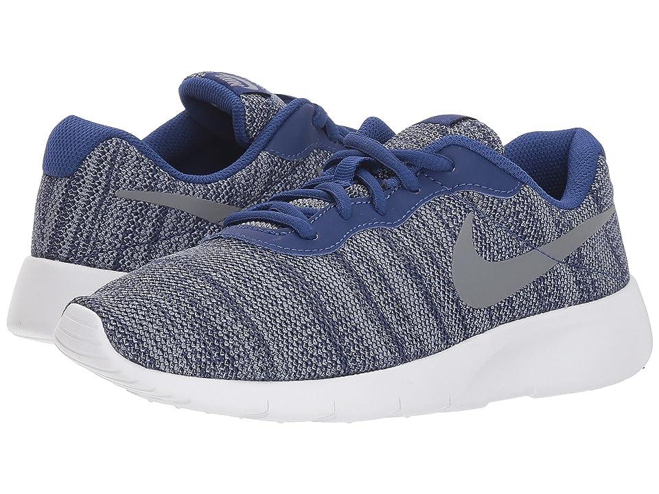 Nike Kids Tanjun (Big Kid) (Deep Royal Blue/Cool Grey/White) Boys Shoes