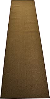 Custom Size Runner Rug Solid Color Roll Runner 36 Inch Wide x Your Length Choice Antibacterial Slip Skid Resistant Rubber Back 26 Inch Also Available Premium Quality (Dark Moss Green, 7 ft x 36 in)