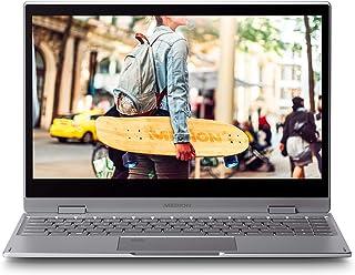"MEDION S4401 - Portátil convertible 14"" Full HD (Intel Celeron N4000, 4GB RAM, 64GB SSD, Intel Graphics, Windows 10), Colo..."