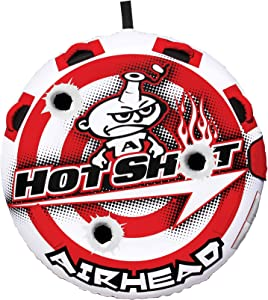 Airhead Hot Shot | 1-2 Rider Towable Tube for Boating