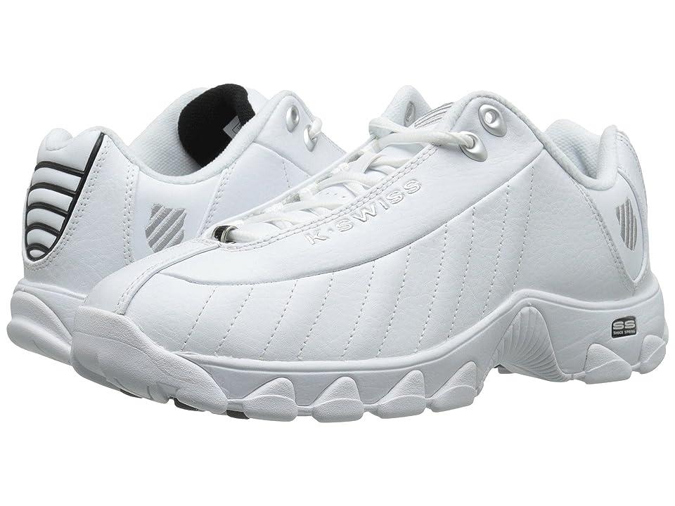 K-Swiss ST329 CMFtm (White/Black/Silver) Men