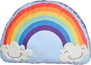 dream FACTORY Unicorn Rainbow Body Pillow, 20 x 30 inches, Multicolor