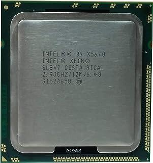 Refurbished Intel Xeon X5670 2.93GHz LGA 1366/Socket B 3200MHz CPU SLBV7 (Renewed)
