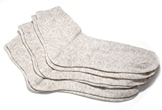 Thin Breathable Organic Linen Socks for Women, Pack of 3 pairs