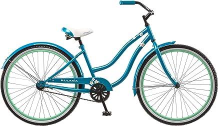 Kulana Bicicleta Cruiser para Mujer, 26 Pulgadas, Color Azul