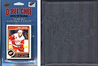 NHL Detroit Red Wings 2014 O-Pee-Chee Team Set and A Storage Album, Brown, One Size