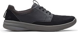 حذاء برباط للرجال من كلاركس، مقاس 9.5 UK, (اسود), 9.5 UK