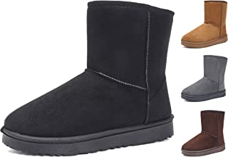 KAIDER Winter Ankle Snow Boots for Women