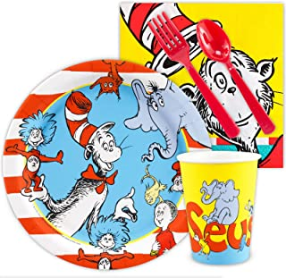 BirthdayExpress Dr Seuss Party Supplies - Snack Party Pack (8)