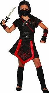 Girl's Ninja of The Dragon Costume