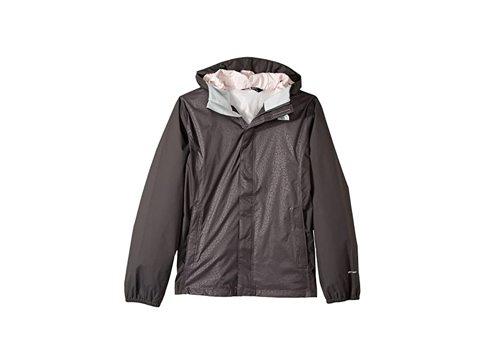 The North Face Kids Resolve Reflective Jacket (Little Kids/Big Kids) (Graphite Grey (Prior Season)) Girl